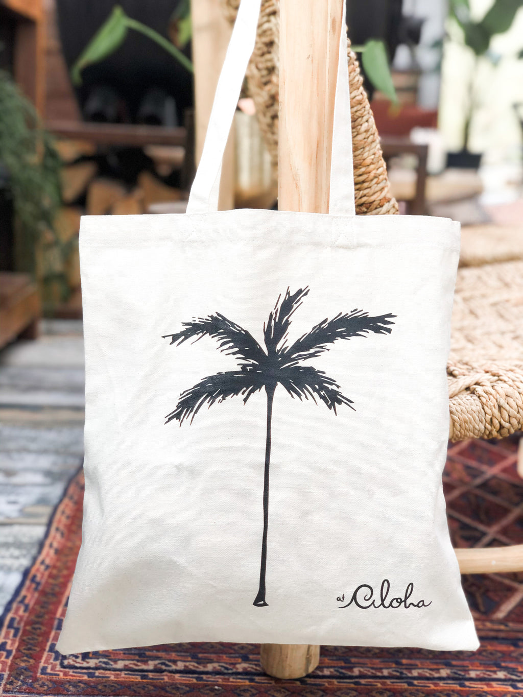 Palmtree Canvas ~ Bag