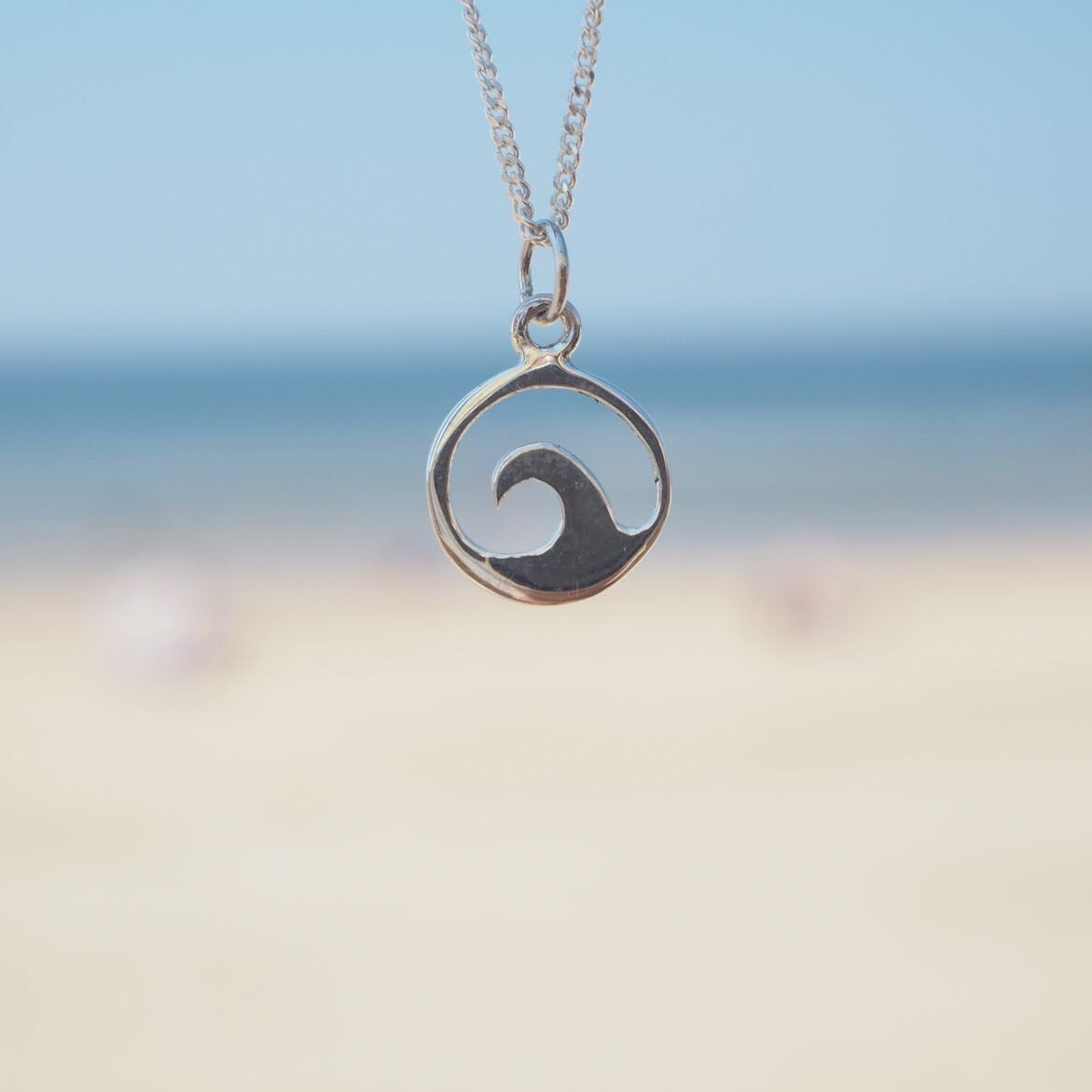 Silver Wave ~ Necklace