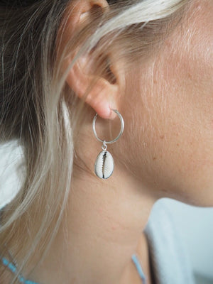 White Shell ~ Earrings