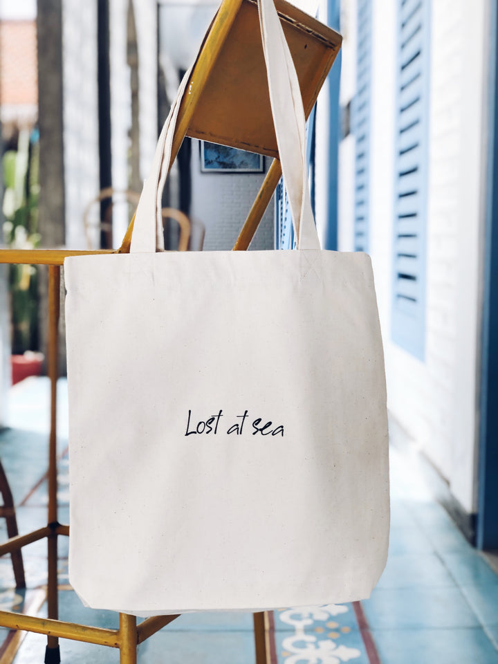 Lost at sea ~ Tote Bag