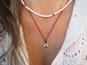 Lefkada Red ~ Necklace