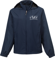 T & K Lightweight Hooded Jacket