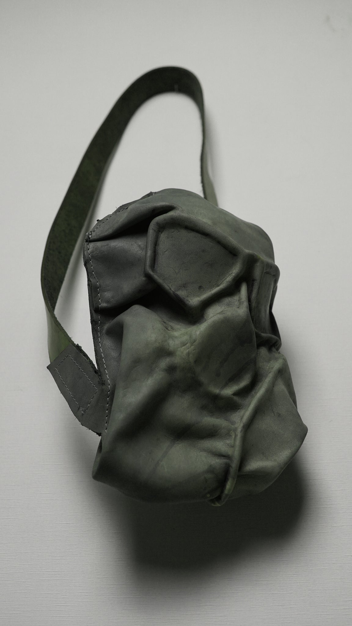 cowhide mask bag | prototype