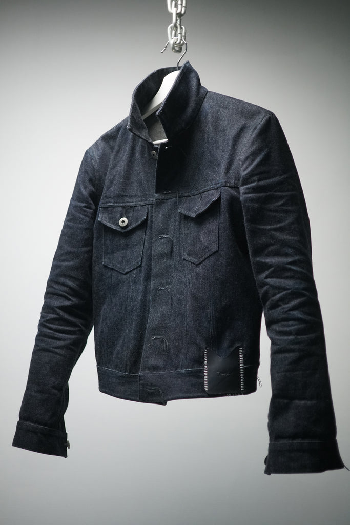 X-BACK DENIM JACKET [ PRE-ORDER 30 DAYS ]