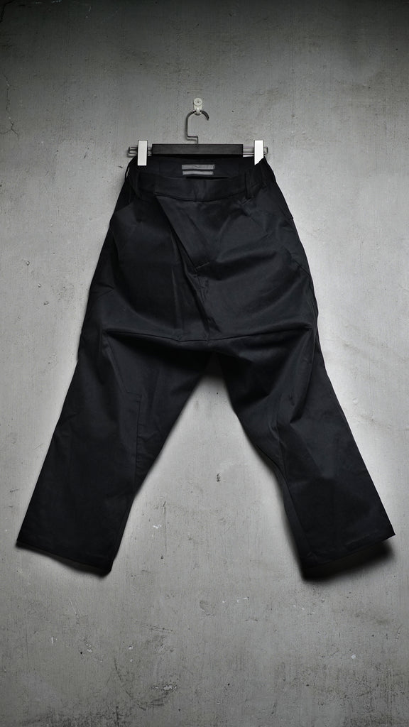 6 pockets drop crotch pants