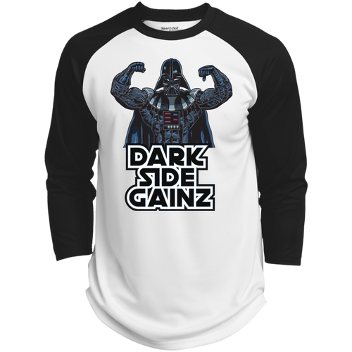Men's 'DARK SIDE GAINZ' Longsleeve Top - GymFreak