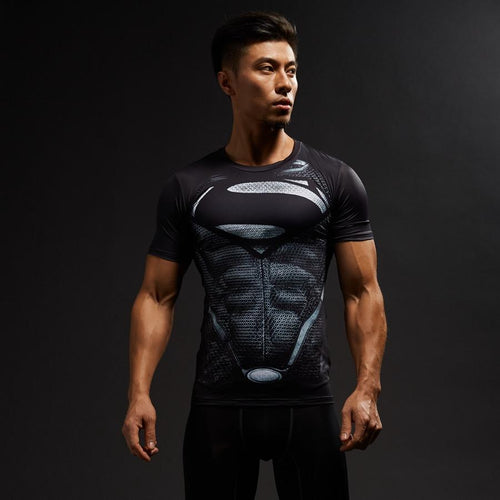 Superman Compression Shirt - GymFreak