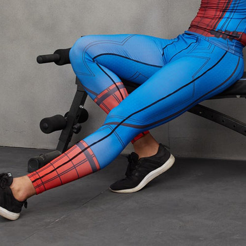 Spiderman Compression Pants - GymFreak