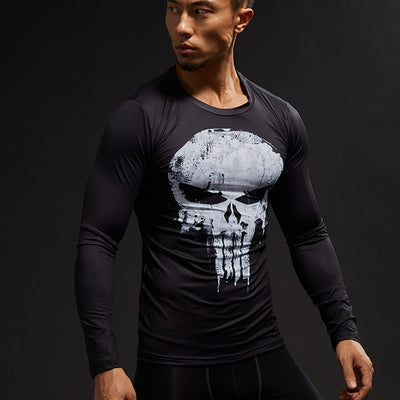 Punisher Compression Top (Long-sleeve)