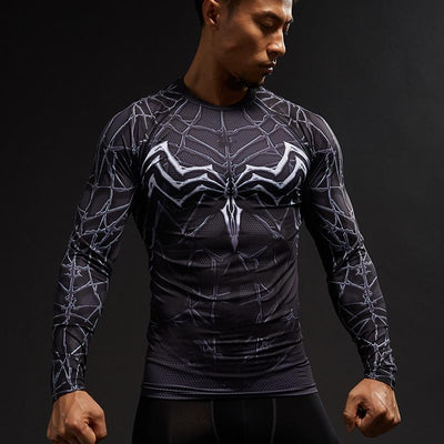 Spiderman Compression Shirt (Long sleeve) - GymFreak