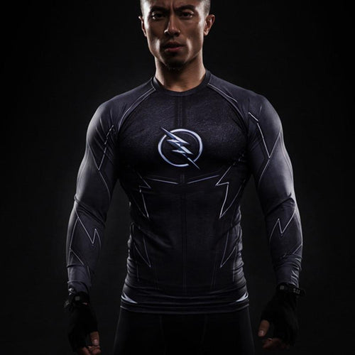 Flash Compression Shirt (Long-sleeve) - GymFreak