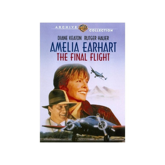 AMELIA EARHART-FINAL FLIGHT (DVD/1994) - Airliner Replicas