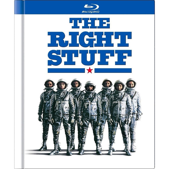THE RIGHT STUFF-30TH ANNIVERSARY (BLU-RAY/2 DISC/40 PG BOOK) - Airliner Replicas