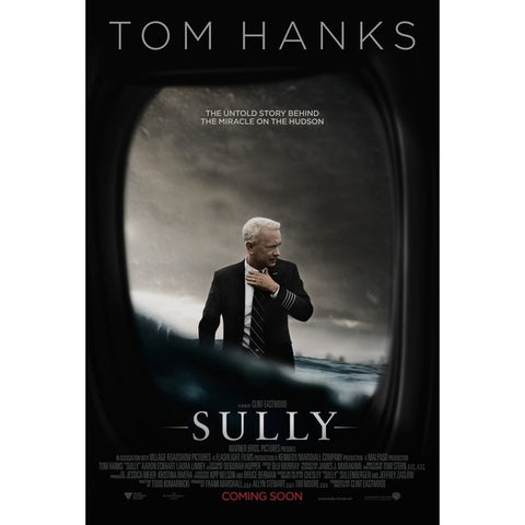 "Tom Hanks stars as airline pilot Chesley ""Sully"" Sullenberger and his heroic emergency landing of an Airbus A320 full of passengers on the Hudson River.  The perfect gift for any aviation or film fan."