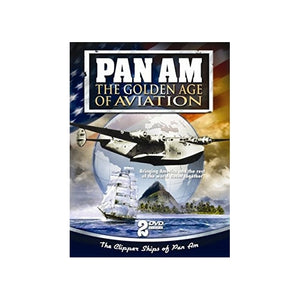 PAN AM-GOLDEN AGE OF AVIATION (DVD) (2DVD TIN) - Airliner Replicas