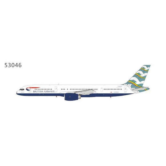 1:400 NG Model British Airways Blue Poole Boeing 757-200 - Airliner Replicas