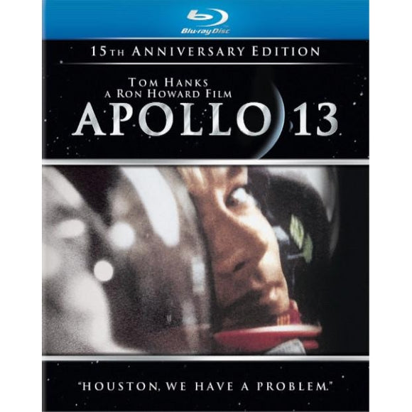 APOLLO 13-15TH ANNIVERSARY EDITION (BLU RAY) - Airliner Replicas