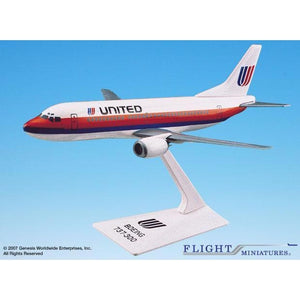 Flight Miniatures United Airlines 737-300 - Airliner Replicas