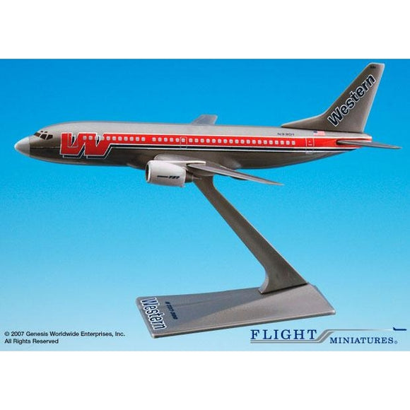 Flight Miniatures Western 737-300 - Airliner Replicas
