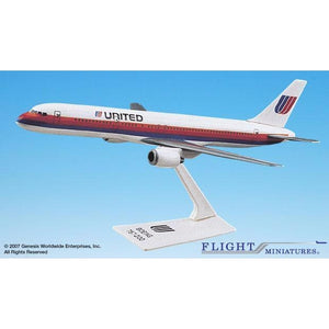 Flight Miniatures United Airlines 757-200 - Airliner Replicas