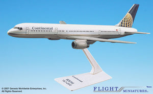 Flight Miniatures Continental 757-200 - Airliner Replicas