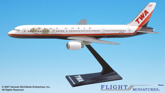 Flight Miniatures TWA 757-200 - Airliner Replicas