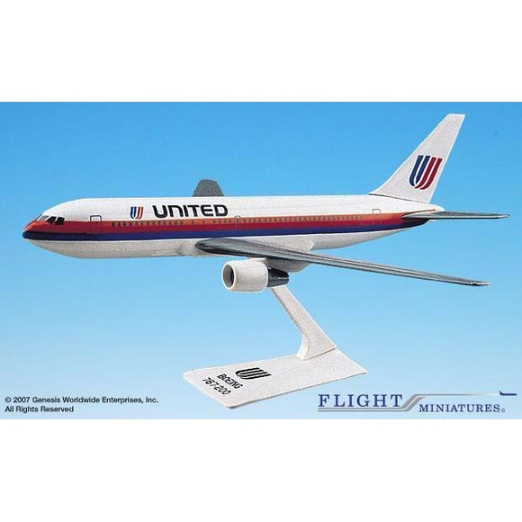 Flight Miniatures United Airlines 767-200 - Airliner Replicas
