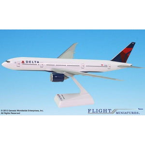 Flight Miniatures Delta Air Lines Boeing 777-200LR - Airliner Replicas