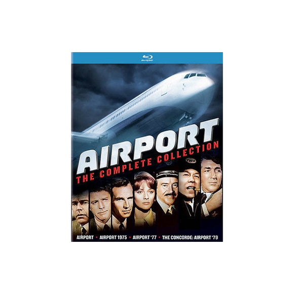 AIRPORT-COMPLETE COLLECTION (BLU RAY) (4DISC) - Airliner Replicas