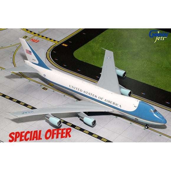 Gemini200 Boeing 747-200 (VC-25A) - Air Force One - Airliner Replicas