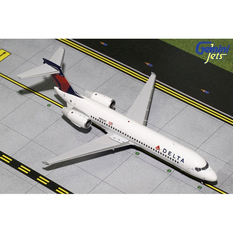 Gemini200 1:200 Scale Diecast Airliner Replica of a Delta Air Lines Boeing 717-200 Diecast metal aircraft model, sold exclusively by Airliner Replicas.  The perfect gift for any aviation fan.