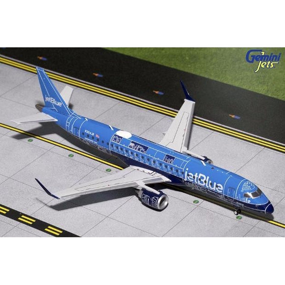 Gemini200 jetBlue Embraer 190 - Blue Print - Airliner Replicas