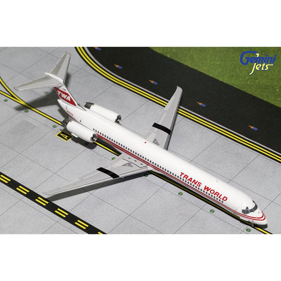 Gemini200 TWA MD-82 - Airliner Replicas