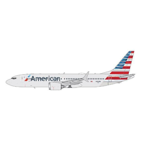 1:400 GeminiJets American Airlines Boeing 737 MAX 8 - Airliner Replicas