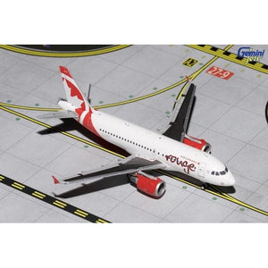1:400 GeminiJets Air Canada Rouge Airbus A19 - Airliner Replicas