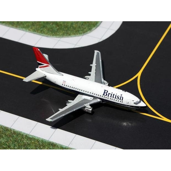 1:400 GeminiJets British 737-200 - Airliner Replicas
