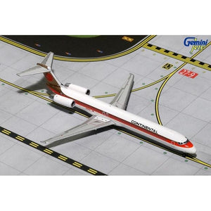 1:400 GeminiJets Continental Airlines McDonnell Douglas MD-82 - Airliner Replicas