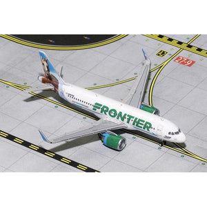 1:400 GeminiJets Frontier Airbus A320neo - Airliner Replicas