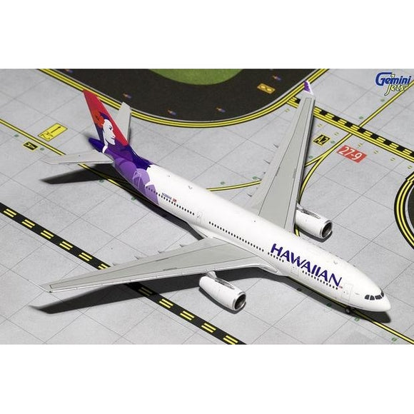 1:400 GeminiJets Hawaiian Airbus A330-200 - Airliner Replicas
