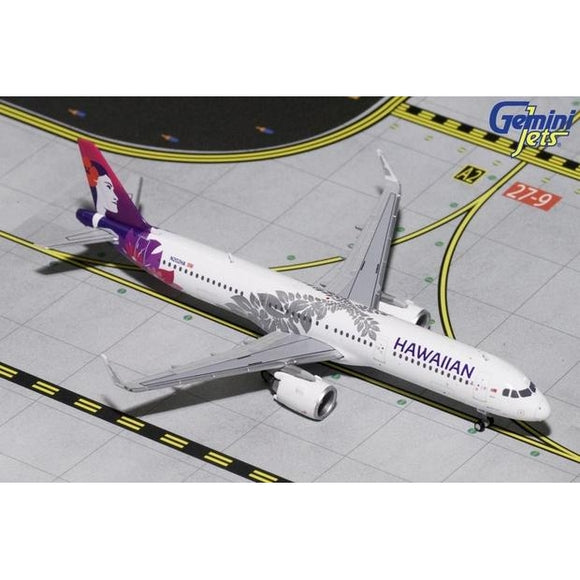1:400 GeminiJets Hawaiian Airbus A321neo - Airliner Replicas