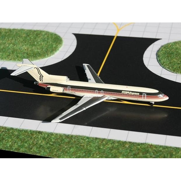 GeminiJets 1:400 Scale PEOPLExpress 727-200 diecast metal aircraft model, sold exclusively by Airliner Replicas. The perfect gift for any aviation fan.