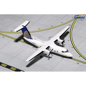 1:400 GeminiJets United Express Bombardier Dash 8-200 - Airliner Replicas