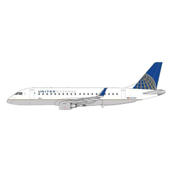 1:400 GeminiJets United Express Embraer 175 - Airliner Replicas