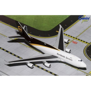1:400 GeminiJets UPS Boeing 747-400F - Airliner Replicas