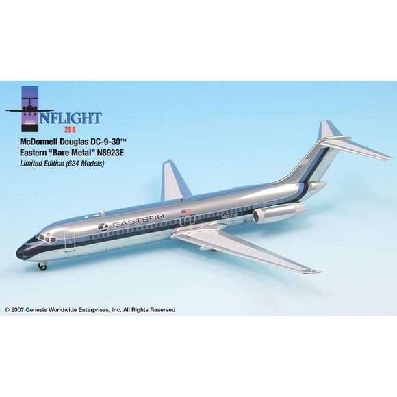 InFlight200 Eastern Polished DC-9-30 1:200 - Airliner Replicas