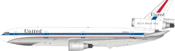 1:200 Inflight United DC-10 Friend Ship Polished - Airliner Replicas