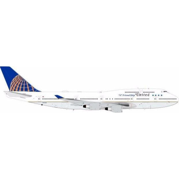 InFlight200 - United Airlines 747-400 Farewell Tribute Titles 1:200 - Airliner Replicas