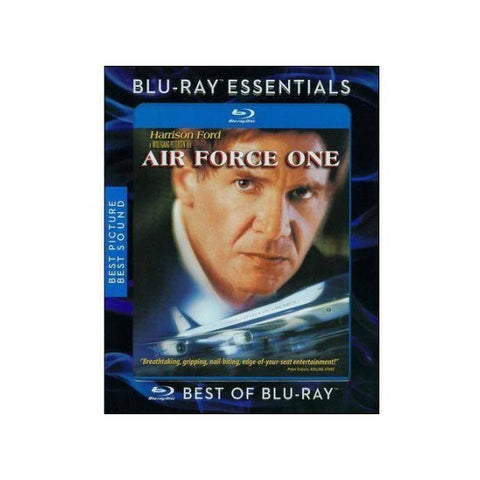 Harrison Ford stars in Air Force One, an action drama perfect for any aviation or film fan.