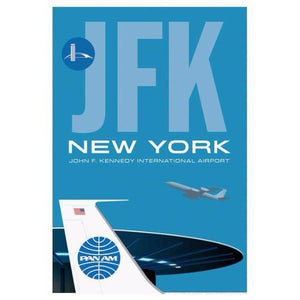 JFK Worldport Airport Poster 14 X 20 - Airliner Replicas