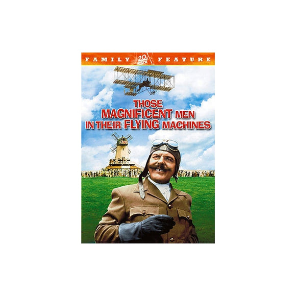 THOSE MAGNIFICENT MEN IN THEIR FLYING MACHINES (DVD/SENSORMATIC) - Airliner Replicas